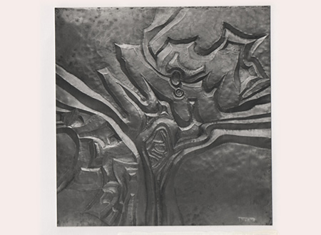 reliefs emboutis cuivre