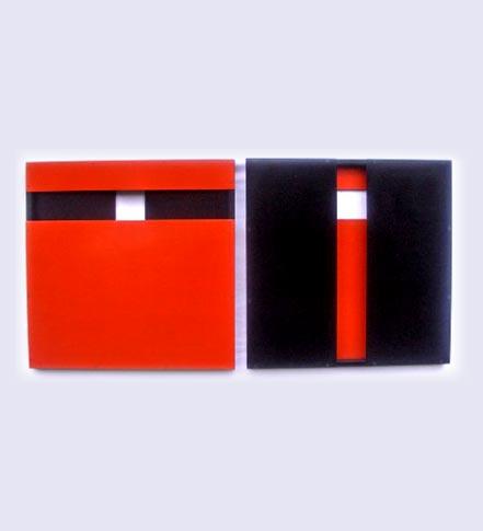 relief rouge et noir